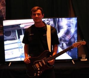 "Lucas Batson of ""Encore Guitars"""