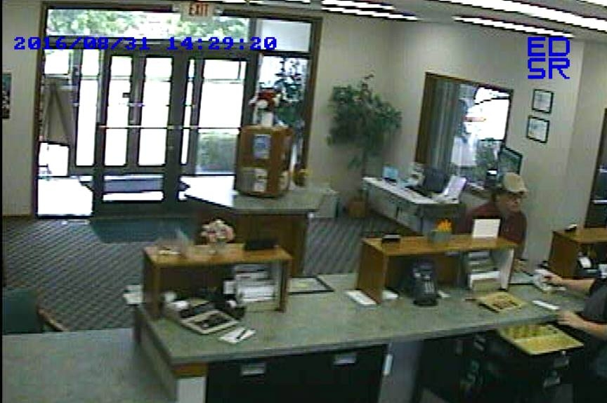 Another image from Wednesday's robbery. CPD is working on getting a cleaner image.