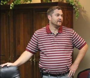 Adam Huston, owner of Livin It Up Transportation, discusses the possibility of buying the Evergreen Mini-Golf Course and negotiating a five-year lease for the property with the Park Board.