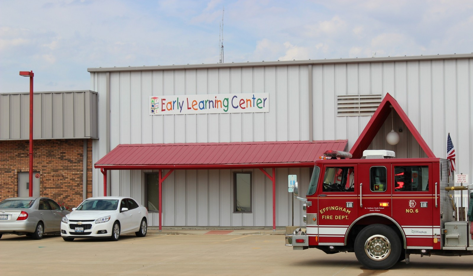 The Effingham Fire Department was called to the Early Learning Center Thursday after a furnace malfunctioned.  Students missed approximately 30 minutes of class.