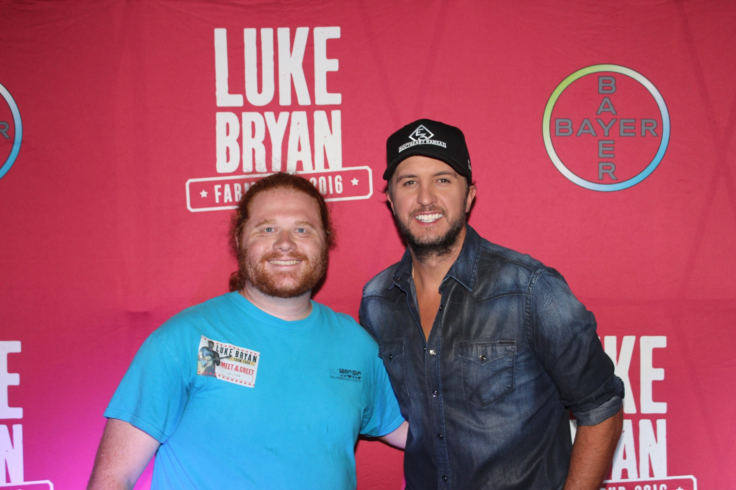 Great success with luke bryan farm tour in effingham effingham radio the luke bryan farm tour hit effingham saturday night with all the excitement that comes with it first of all thanks to everyone who came out and stopped kristyandbryce Choice Image